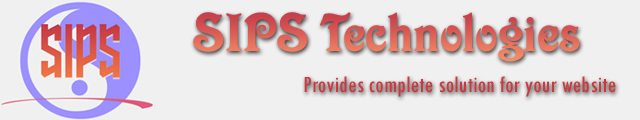 SIPS Technologies - Provides complete solution for your website.